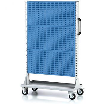 Mobilní stojan s panely na boxy, vysoký