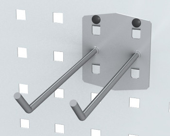 Háček dvojitý 45° - 150 mm