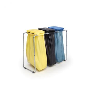 Stojan na tři odpadové pytle 70/120l