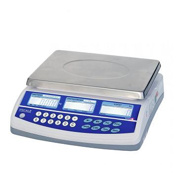 Cejchuschopná počítací váha QHD se 2 displeji 15 kg/5 g
