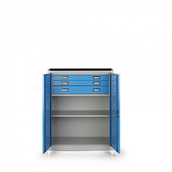 Dílenská skříňka se zásuvkami