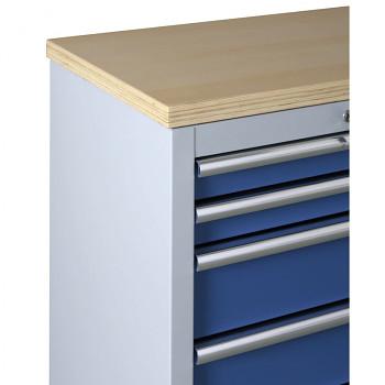 Pracovní deska dřevěná (2x skříňka)
