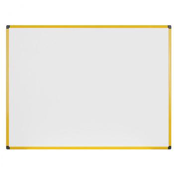 Magnetická tabule 1200x 900 mm, žlutý rám