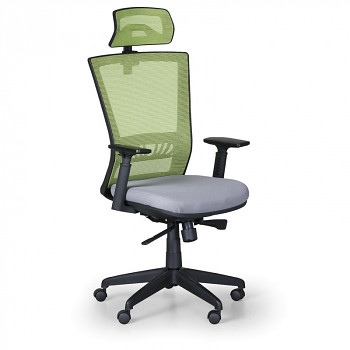 Kancelářská židle ALMERE zelená