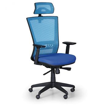 Kancelářská židle ALMERE modrá