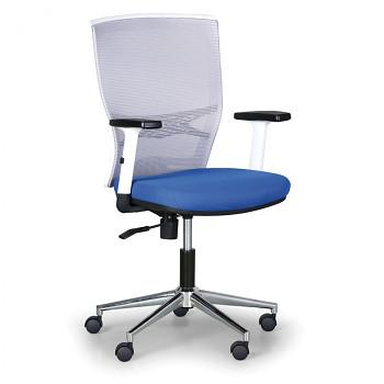 Kancelářská židle HAAG modrá