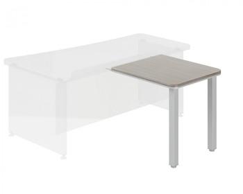 Stolový prvek  800x 700x762 mm, dub šedý, WELS