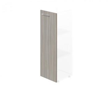 Dveře 1162x 396x18, dub šedý, R, WELS