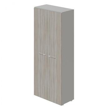 Šatní skříň kancelářská, 1965x 798x422, dub šedý, WELS