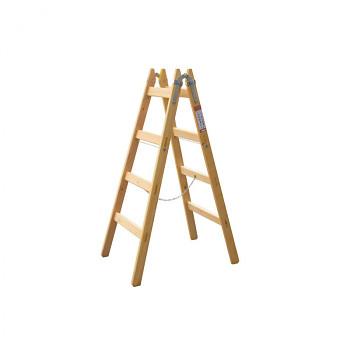 Dřevěné štafle 2 x 5 příček, délka bočnice 1665 mm