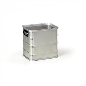 Hliníková přepravka bez víka  31 L, 385x288x370 mm