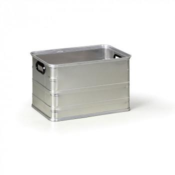 Hliníková přepravka bez víka  67 L, 585x385x370 mm