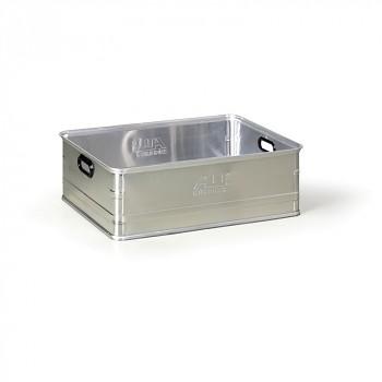 Hliníková přepravka bez víka  98 L, 778x585x260 mm