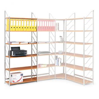 Stavebnicové kancelářské regály - šíře 800 mm