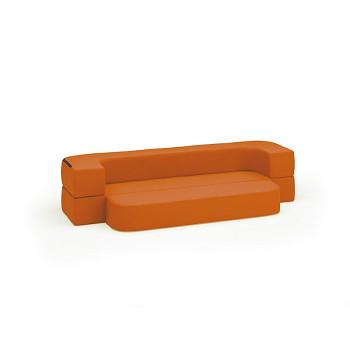 Pohovka SOFTY oranžová