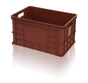 Plastová přepravka na maso, OZT 50-30, 600x400x324 mm
