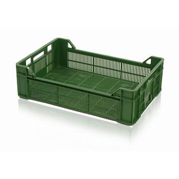 Plastová přepravka na zeleninu děrovaná, 600x400x172 mm