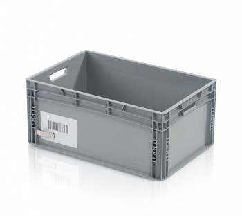 Držák etiket na euro přepravky