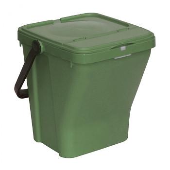 Koš na tříděný odpad ECOTOP zelený