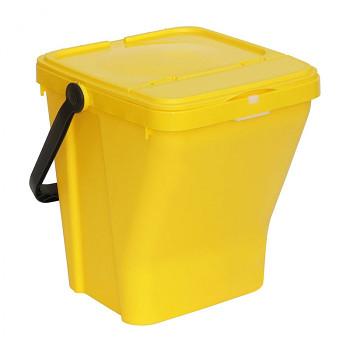 Koš na tříděný odpad ECOTOP žlutý