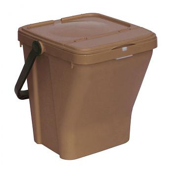 Koš na tříděný odpad ECOTOP hnědý
