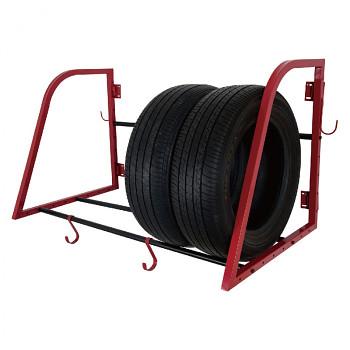 Sklopný držák na pneumatiky