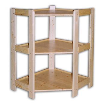Regál dřevěný