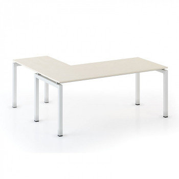 Stůl SQUARE L bříza, 1800x1800