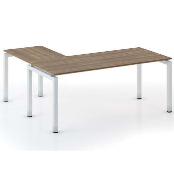 Stůl SQUARE L ořech, 1800x1800