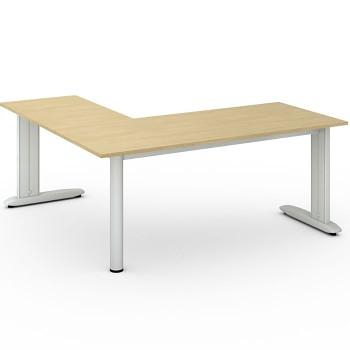 Stůl FLEXIBLE L, bříza, 1800x1800