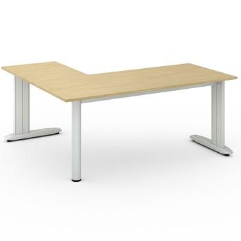 Stůl FLEXIBLE L, bříza, 1800x1600