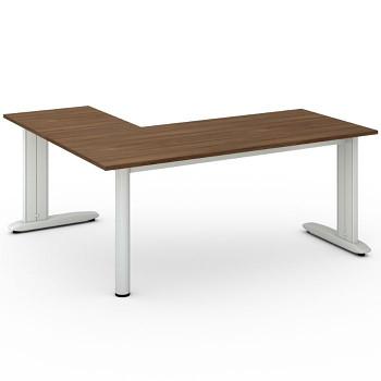 Stůl FLEXIBLE L, ořech, 1800x1600