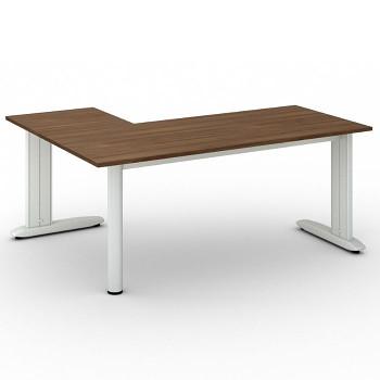 Stůl FLEXIBLE L, ořech, 1800x1400