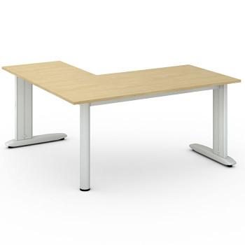 Stůl FLEXIBLE L, bříza, 1600x1600