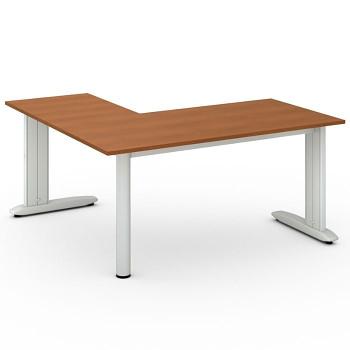 Stůl FLEXIBLE L, třešeň, 1600x1600