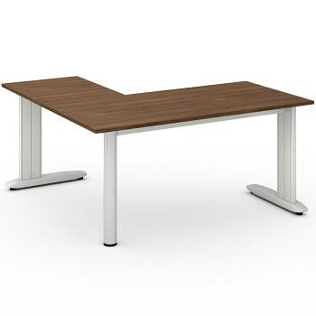 Stůl FLEXIBLE L, ořech, 1600x1600