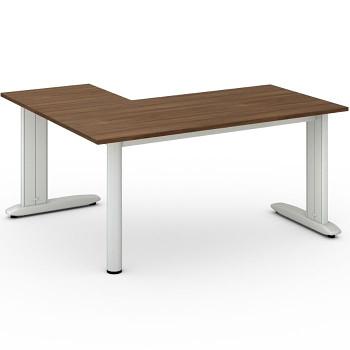 Stůl FLEXIBLE L, ořech, 1600x1400