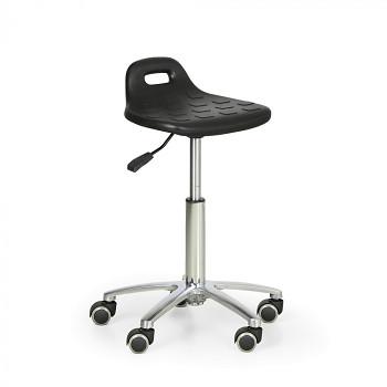Pracovní stolička, s úchytem v opěrce