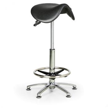 Pracovní stolička vysoká - sedlo