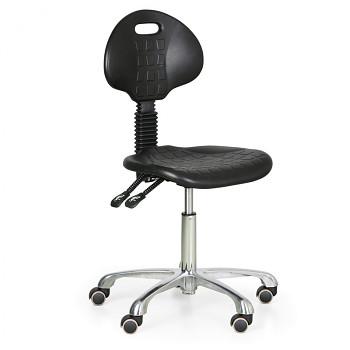 Pracovní  židle PUR kovový kříž