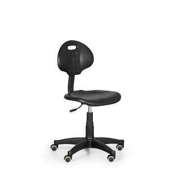 Pracovní  židle PUR plastový kříž