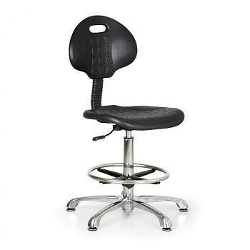 Pracovní židle vysoká PUR