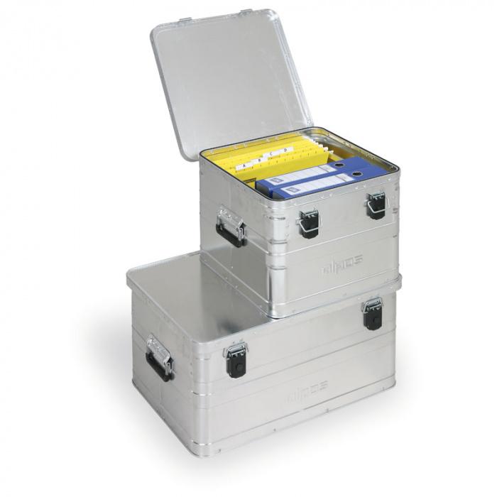 Hliníková přepravní bedna OFFICE  50 L, 440x440x320 mm