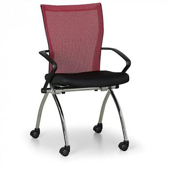 Konferenční židle DYNAMIC červená