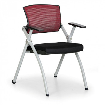 Konferenční židle REST červená