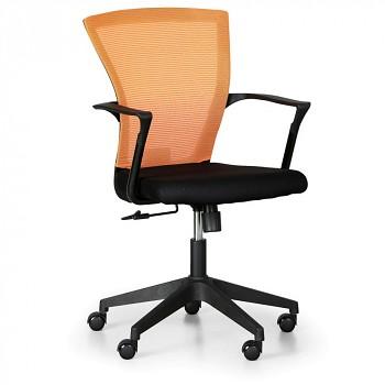 Kancelářská židle BRET oranžová