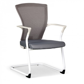 Konferenční židle BRET W šedá
