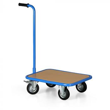 Plošinový vozík  250 kg,  600 x 450 mm, s rukojetí