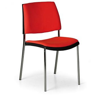 Konferenční židle CUBE červená