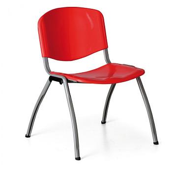 Jídelní židle LIVORNO červená
